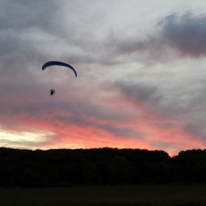 Powered paragliding training