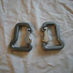 Aluminum carabiner