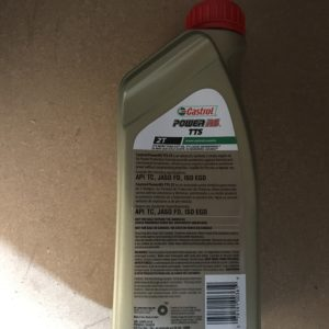 CASTROL POWER RS TTS 2T MOTOR OIL
