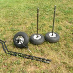 paramotor Insta-trike/quad wheels & axles