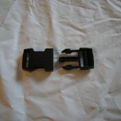 1″ plastic buckle